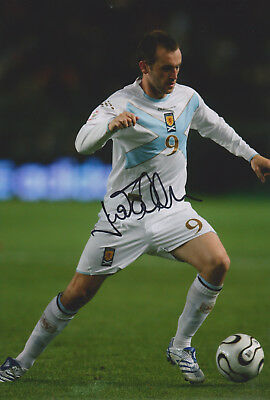 "James McFadden signed 12x8"" Scotland photo / COA"