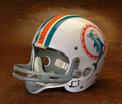 Miami Dolphins style NFL Vintage Suspension Football Helmet BOB GRIESE 1969- 1972 749dba35e18