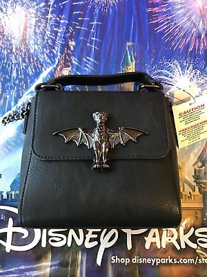 Disney Parks Halloween The Haunted Mansion Crossbody Purse Bag by Loungefly