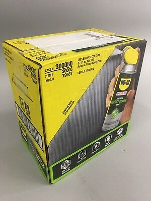 WD-40 SPECIALIST ELECTRICAL CONTACT CLEANER SPRAY case of 6 300080