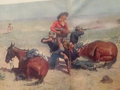 DONE IN THE OPEN DRAWINGS by FREDERIC REMINGTON 1901