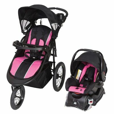 Cityscape Jogger Travel System Baby Jogger & Car Seat- Rose