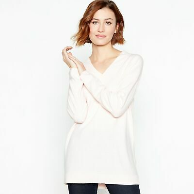 4ce17f795e9c PRINCIPLES WOMENS PALE Pink Supersoft V-Neck Jumper - £11.70 ...