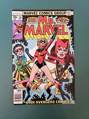 Ms Marvel #18, Vol 1 Bronze Age NM! 1st Mystique!