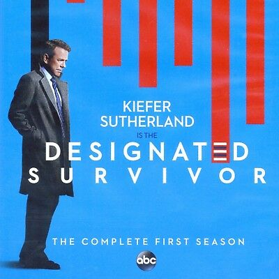 DESIGNATED SURVIVOR season 1 2016-2017 ABC, new DVD, Kiefer Sutherland President