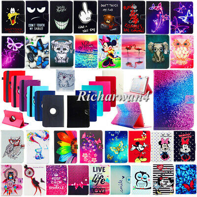 For Huawei Mediapad T3 7.0 8.0 10 inch Tablet Universal PU Leather Case Cover UK