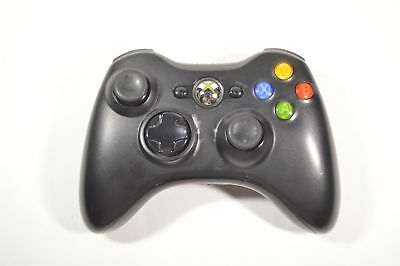 Genuine Official Microsoft Xbox 360 Replacement Controller Wireless Black
