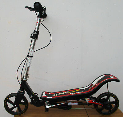 Child's Space Sport Scooter, With Chain Movement, Foot Plate.  Good Order. Opt.2