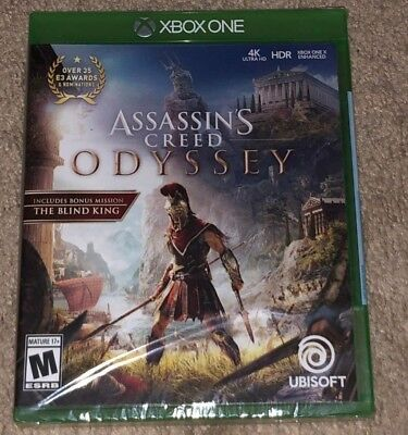 Assassin's Creed: Odyssey Standard Edition (Microsoft Xbox One, 2018) BRAND NEW!