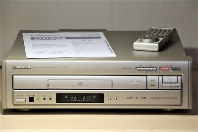Pioneer CLD R6G LD Player Laser Disc Player LD  Vintage Perfect Working