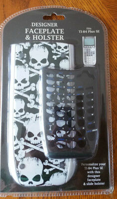 TI-84 Plus SE Graphing Calculator Faceplate & Holster Skull & Crossbones