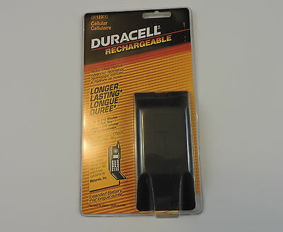 New Vintage Duracell Rechargeable Motorola Cell Phone Battery DR123DG