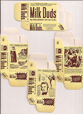 Milk Duds Candy  -  1974...13 Boxes...ripley's Believe It Or Not...mint