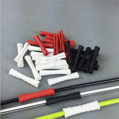 20PCS Silicone Bicycle Outer Brake Gear Cable Wrap Frame Protector MTB Road Bike