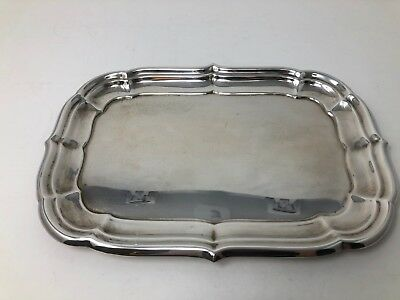 "Reed & Barton Windsor X956 Sterling Silver Rectangular Platter Tray 11"" No Mono"
