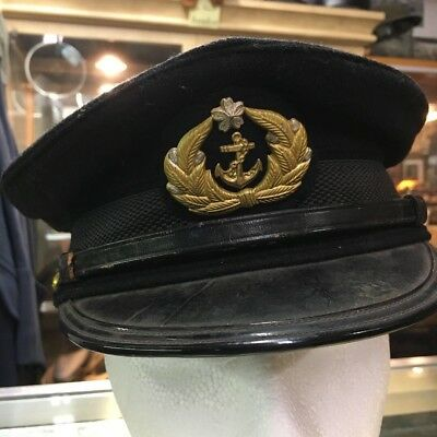 WWII Imperial Japanese Naval Petty Officer Visor Hat