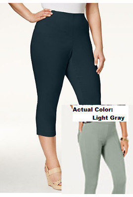 b043344a3e1ce NWT STYLE & CO Women's Twill Pull On Leggings Mid Rise Comfort Waist ...