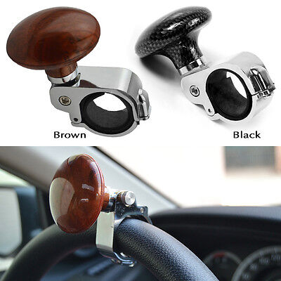 Black Car Steering Wheel Spinner Handle Auto/Tractor Suicide Power Knob For Car