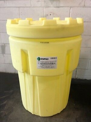Overpack Salvage Drum 95 gal ENPAC 1095 YE 55 gallon spill kit