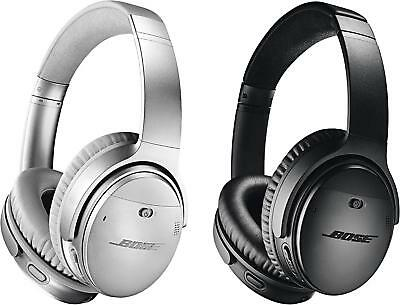 Bose QuietComfort 35 II Wireless Headphones Noise Cancelling Black Silver UK*au