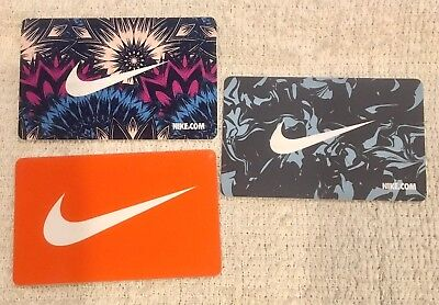 Nike Nike.com The Swoosh Gift Cards - Collectible Only / No Value Take Your Pick