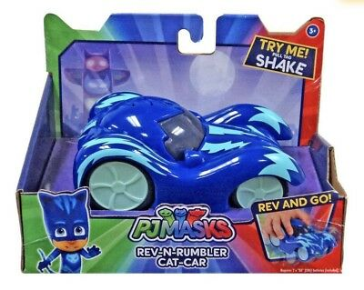 Pj Masks Rev N Rumbler  Catboy Catcar Battery Operated - kids movie Toy Car
