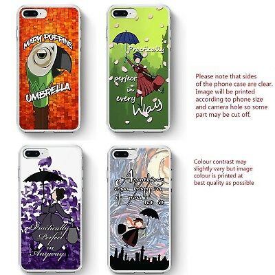 Mary Poppins Inspired phone case Umbrella Perfect quote phone cover iPhone HTC