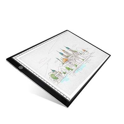 UKON A4 LED Tavoletta Luminosa per Disegno,Ultra-Sottile Light Board (N8h)
