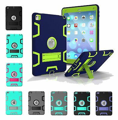 "For Apple New iPad 9.7"" 6th Gen Gen Rubber Heavy Duty Shockproof Case Cover 2018"