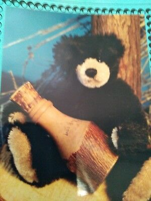 Smokey bear pattern and free mini bear pattern