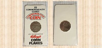 Kelloggs Corn Flakes 1982 Promotional Complimentary 50 Cents
