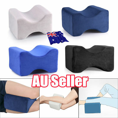 2019 Memory Foam Leg Pillow Cushion Knee Support Pain Relief Washable Cover KJ