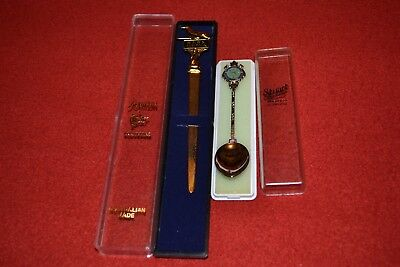 Vintage Royal Flying Doctor Service Spoon & Letter Opener RFDS Spoon