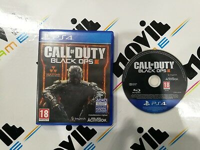 CALL OF DUTY BLACK OPS III 3 per Playstation 4 PS4 italiano USATO garantito
