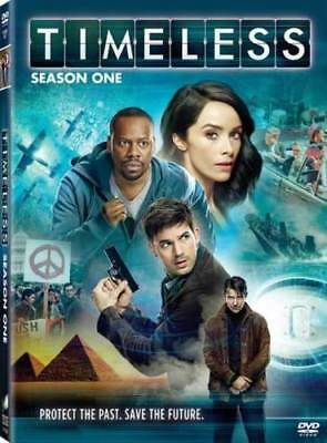 TIMELESS The Complete First Season 1 One (DVD,2017,4-Disc Set) NEW