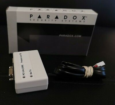 Paradox Security 307USB Programmer module security systems original interface