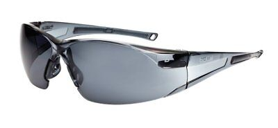 Bollé RUSHPSF One Size Smoked Glass `Rush` Safety Spectacles - Grey