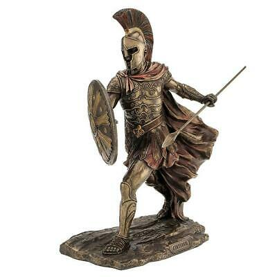 Achilles With Spear & Shield - Myth & Legend Sculpture