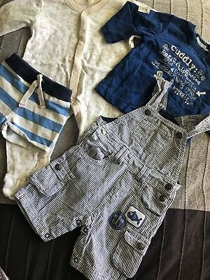 Baby Boys Clothes Mixed Lot Sz 00 Country Road Pumpkin Patch Target George