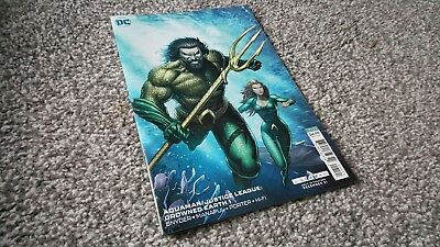Aquaman/justice League: Drowned Earth Special #1 Dale Keown Variant (2019) Dc