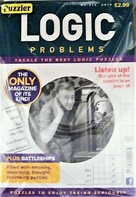 Logic Problems Magazine No. 412 2019