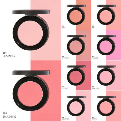 Blusher Cosmetic Women Palette Glossy Pressed Makeup Soft Powder Lady Colour