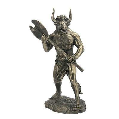 Minotaur With Labrys - Myth & Legend Sculpture