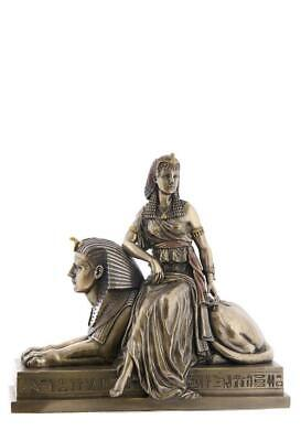 Cleopatra Sitting On A Statue Of Sphinx - Art Nouveau & Art Deco Sculpture