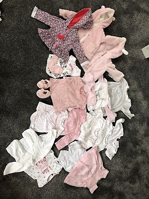 0-3 months girls bundle