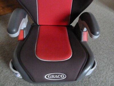 Graco Car Seat/booster seat red and black, little used