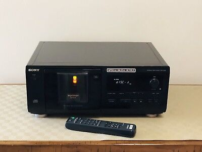 Compact Disc Disk CD C D Player Mega Storage 50+1 Sony CDP - CX53