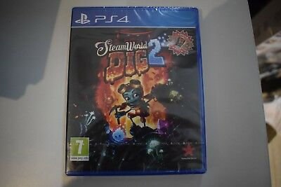 steamworld steam world dig 2 ps4 playstation 4 ps neuf