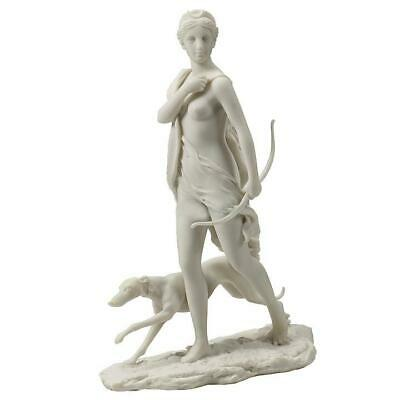 Diana Huntress (Marble White) Sculpture
