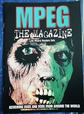 MPEG The Magazine Rare Horror Adult Nasties Sleaze etc